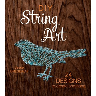 Borduurblad productfoto Boek 'DIY String Art'