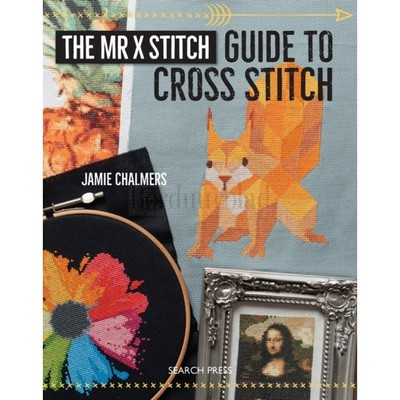 Borduurblad productfoto Borduurboek Mr X Stitch Guide to cross stitch