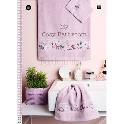 Borduurblad productfoto Rico Design borduurboek My cosy bathroom No. 161