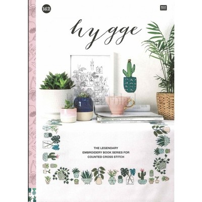 Borduurblad productfoto Rico Design borduurboek Hygge Nr. 162
