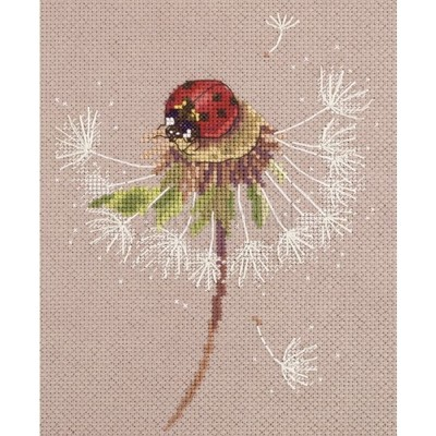 Borduurblad productfoto Borduurpakket PANNA 'Split Seconds of Summer Ladybird'