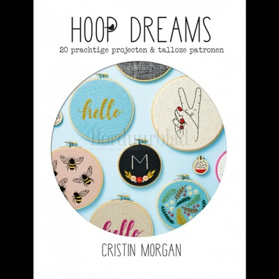 Borduurblad productfoto Freestyle Embroidery borduurboek Hoop Dreams 2