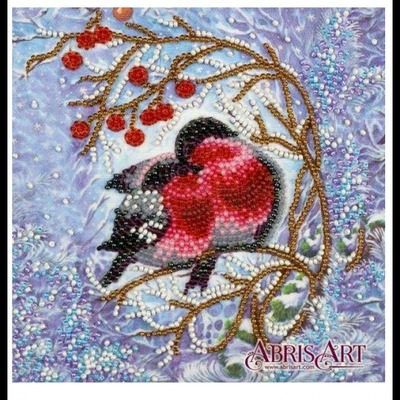 Borduurblad productfoto Mini Bead Embroidery Schildery Warmth Together