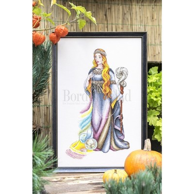 Borduurblad productfoto Patroon Pagan Goddess of Destiny 2