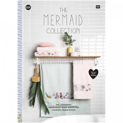 Borduurblad productfoto Rico Design borduurboek - The Mermaid Collection no. 169