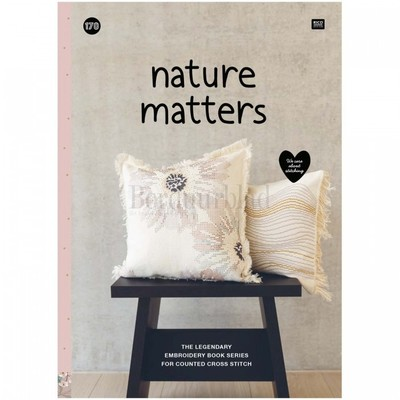 Borduurblad productfoto Boek Rico Design 'Nature Matters no. 170'