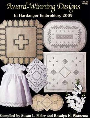 Borduurblad productfoto Patroonboekje 'Award Winning Designs in Hardanger Embroidery 2009'