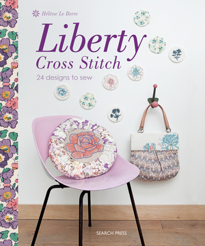 Borduurblad productfoto Boek 'Liberty Cross Stitch'