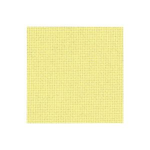 Borduurblad productfoto 20 count evenweave Bellana lichtgeel