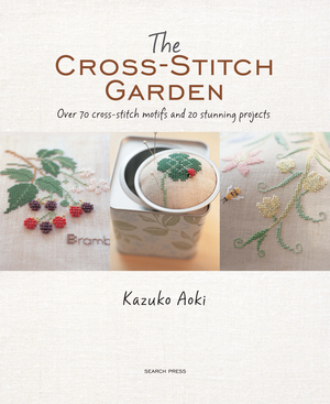 Borduurblad productfoto Borduurboek The Cross Stitch Garden