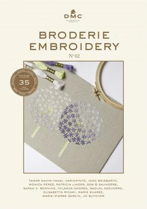 Borduurblad productfoto Boek DMC Broderie / Embroidery Book N°2