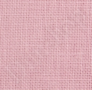 Borduurblad productfoto 36 count linnen Edinburgh linnen roze