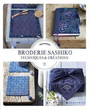 Borduurblad productfoto Boek 'Broderie Sashiko: Techniques & Creations'