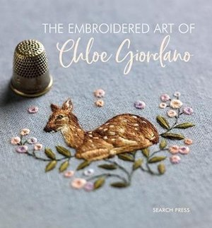 Borduurblad productfoto Boek 'The Embroidered Art of Chloe Giordano'