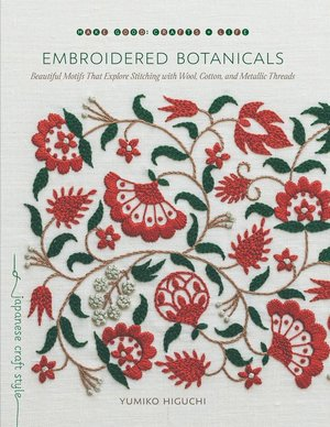 Borduurblad productfoto Boek 'Embroidered Botanicals'
