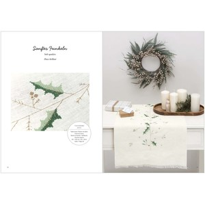 Borduurblad productfoto Boek Rico Design 'Christmas is in the Air 172' 2
