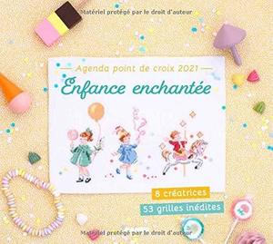 Borduurblad productfoto Mango agenda point de croix 2021 - Enfance Enchantée