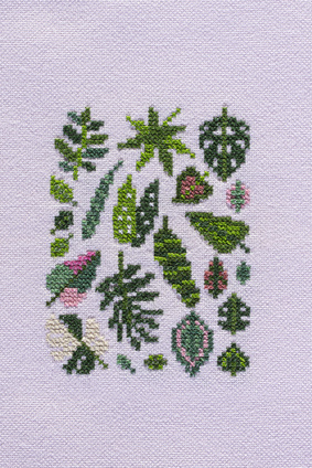 Borduurblad productfoto Patroon Stitchonomy 'Plants'