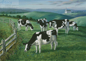 Borduurblad productfoto Patroon Artecy 'Amazing Grazing'