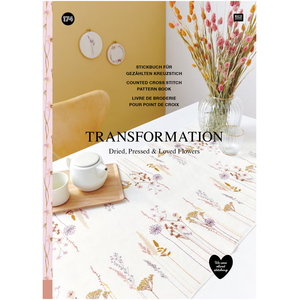Borduurblad productfoto Boek Rico Design Transformation 174