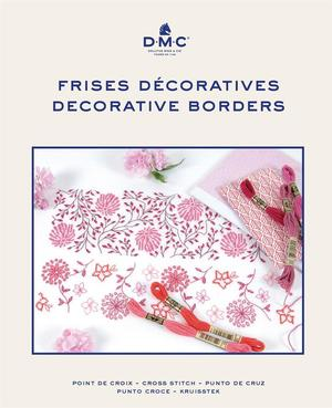 Borduurblad productfoto Boek DMC Frises Décoratives - Decoratieve randen