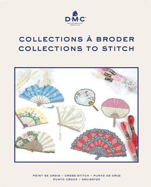 Borduurblad productfoto Boek DMC Collections à broder