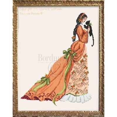 Borduurblad productfoto Patroon Passione Ricamo 'The Lady of Autumn'